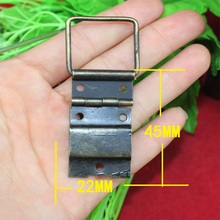 22*45mm Antique Hinge Even hinge wire Wooden Gift Box Hinge Support hinge Packaging Hinge Wholesale(China)