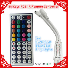 44 Key MINI IR Remote RGB led Controller 12V 6A  for Flexible SMD3528 5050 5630 2835 RGB LED SMD Strip Lights free shipping