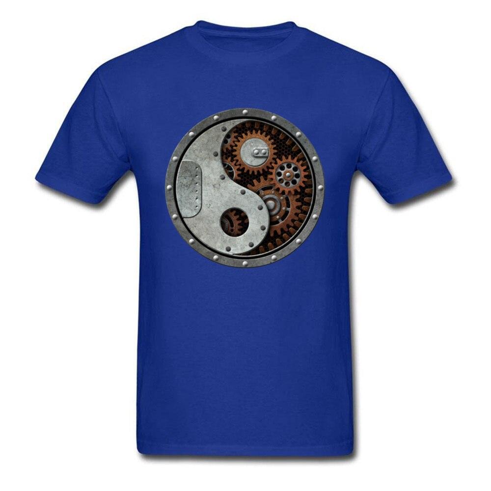Industrial Steampunk Yin Yang_blue