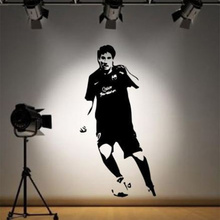 POOMOO Wall Decals Details about Lionel Messi Barcelona Wall Sticker Decal Footballer La Liga