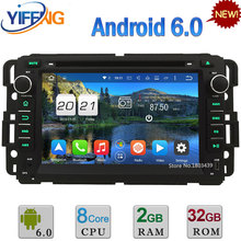 32GB ROM Octa Core WIFI Android 6.0 2GB RAM 4G FM Car DVD Player Radio For Chevrolet Express Traverse Tahoe Suburban 2007-2012