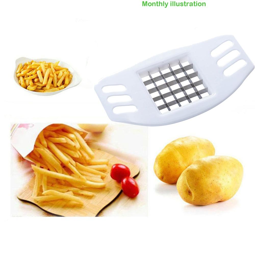 4 in1 Outil de Coupe Pomme de Terre Fries Fry Potato Cutter Découpe Chip Frites
