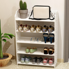 Shoe Cabinets Shoe Rack Living Room Furniture Home Furniture assembly PVC panel shoes rack F Zero washable white color hot new(China)