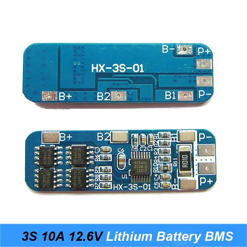 3S 10A 12.6V BMS (3)