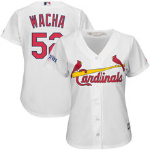 MLB Women's St. Louis Cardinals Michael Wacha White Home Cool Base Player Jersey(China)