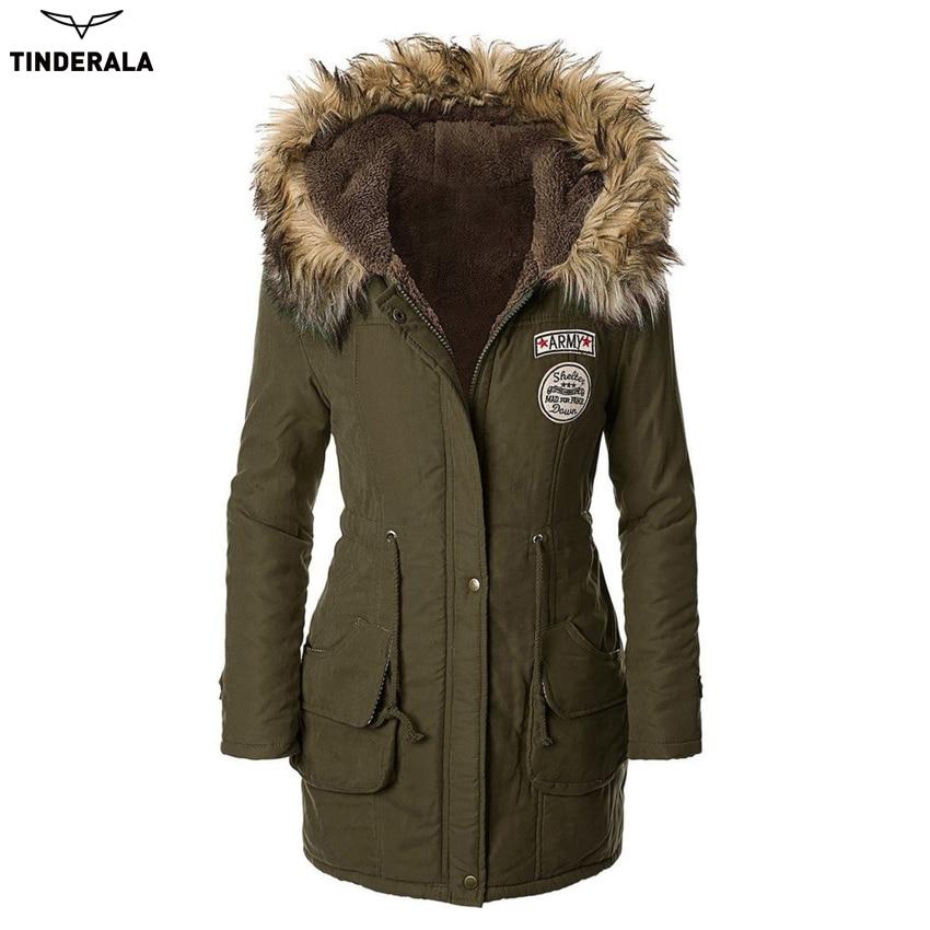 High Quality 2016 new winter coat fur women jacket medium-long outwear hooded wadded coat slim parkas cotton padded overcoatÎäåæäà è àêñåññóàðû<br><br>