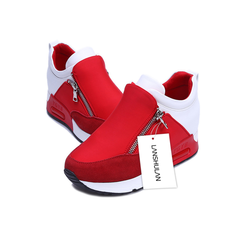 Fashion-2017-Spring-Brand-Women-Casual-Shoes-Zipper-Height-Increasing-Breathable-Women-Walking-Flats-Trainers-Shoes