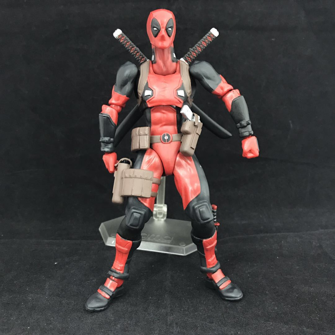 Figma EX-42 X-Men Deadpool DX Marvel PVC Action Figure Collection Gifts Boxed