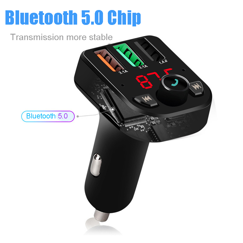 E0029 Bluetooth Handsfree FM modulator (2)