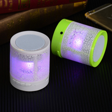 LED MINI Bluetooth Speaker A3 Wireless Portable Music Speaker Sound Box Subwoofer TF USB Loudspeakers For phone PC(China)