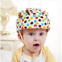 Baby Safety Helmets Cotton Infant Protective Hat Headguard Neonatal Boys Girls Crashproof Anti-shock SafetyCap for Baby