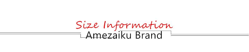 001 Size Information