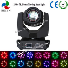 16/20CH beam 230w sharpy 7r moving head stage light for dj lighting with touch screen(China)