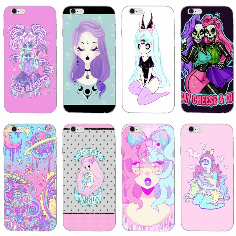 Girly Pastel Witch Goth Slim Silicone Soft Phone Case For Xiaomi Mi 6 6x A1 5 5s 5x Mix Max 2 Redmi Note 4 5 5a Pro Plus Great Varieties Phone Bags & Cases
