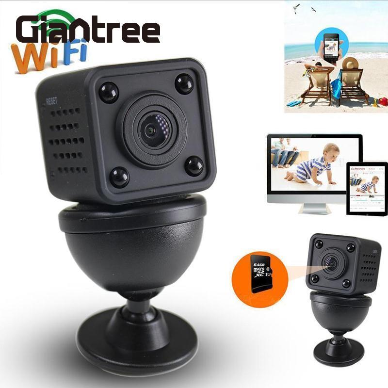 giantree WiFi Night Vision Camera Camcorder Mini Camera Video Recorder DVR Support TF Baby Monitor<br>