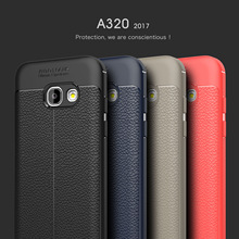 4 Color for Samsung 2017 GALAXY A3 A5 A7 Soft TPU Rubber Back Cover Phone Case Cheap Fashion Discount Free shipping track number(China)