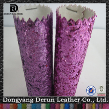 pu glitter wallpaper wallcovering purple wallpapers and for living room decoraction derun(China)