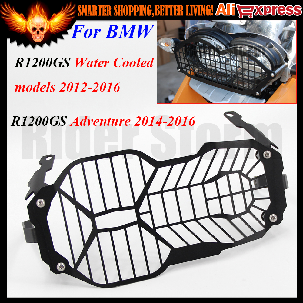 Motorcycle Headlight Head light Grill Guard Cover Protector For BMW R1200GS Water Cooled 2012 2013 2014 2015 2016 Adventure 2016<br>