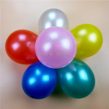 7 inch pearl balloons (200piece/lot) balloons wedding party decoration personalized latex Balloons(China)