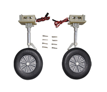Front landing gear set for 1.2m wingspan F4U airplane aircraft sky flight hobby Lan Xiang