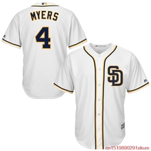 MLB Men's San Diego Padres Wil Myers Baseball White Home Cool Base Player Jersey(China)