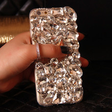 Buy Luxury Bling Crystal White Black Diamond Case Iphone 7 7 Plus 6 6S Plus 5S Phone Cover iPhone Cover Phone Cases 2017 for $8.19 in AliExpress store