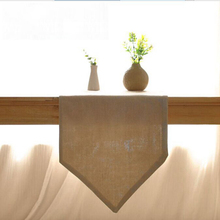 sk table runner Solid color Ichiban Japanese dining table coffee table style simple plain cloth soft-mounted home linen table ru(China)