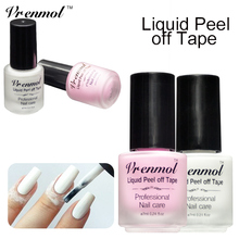 Vrenmol Peel Off Liquid Nail Art Tape Latex Tape& Finger Skin Protected Liquid Easy Tear Base Coat Care Nail Polish Nail Cream(China)