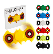 100pcs 7 Colors Hand Spinner Fidgets Batman Stress Fidget Spinner Tri-Spinner Fidget Toy Adults Focus Anti Stress Gifts Toys