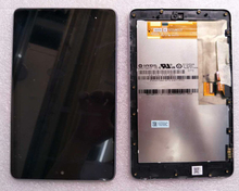 high quality LCD display+Touch Digitizer Screen with frame for ASUS Google Nexus 7 nexus7 2012 ME370T wifi free shipping