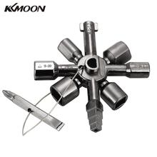 10 In 1 Universal Control Cabinet cross Key Marine Tools Key Torque Wrenches Cross Key with Double Head Bit(China)