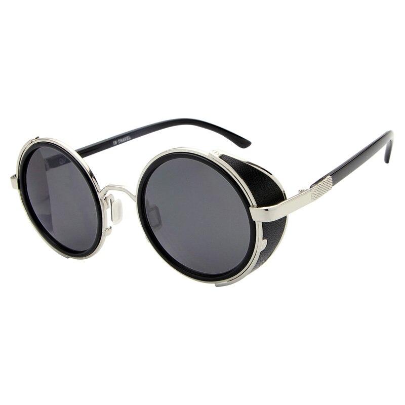 Round Metal Sunglasses men Steampunk Brand Lens Metal Frame Sunglasses High Quality Driving Retro Eyeglasses S003<br><br>Aliexpress