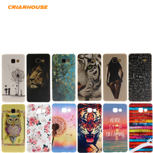 Cartoon Printing Soft Silicone TPU Case Cover For SAMSUNG GALAXY A3 A5 A7 2017 J1 J5 J7 2016 Prime A310 S7 Edge G935 S8 Plus(China)