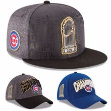 Official Chicago Cubs 2016 World Series Champions Mens Womens Casual Loose Baseball hats