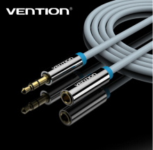 Vention 1M-5M Jack 3.5 mm Male to Female Stereo Aux Cable Extension Cable For Headphone/PC/DVD/TV/Car Audio Cable