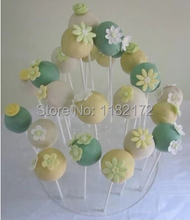 Free shipping 4 tier acrylic lollipop display stand, candy holder for home decor/ wedding favors (size 7.5,17.5,30,30cm)