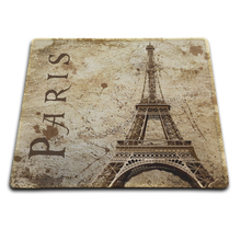 Ot Fashion And Durable Quick Game Scenery Of The Eiffel Tower In Paris Gamers Notebook Mouse Pad Used In Offices And Homes