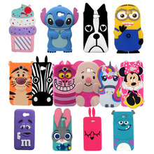 Cute 3D Cartoon Unicorn Stitch Minnie Soft Silicone Phone Case For Samsung Galaxy 2016 on 5 on5 J5 Prime on 7 on7 J7 Prime Cover(China)
