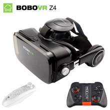 Bobovr Z4 mini vr box 2.0 3d vr glasses virtual reality gafas goggles google cardboard Original bobo vr headset For smartphone(China)