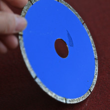 Promotion sale of electroplated diamond cutting slice horn cutting marble tile saw blade diameter of 110mm*2.0* 20mm