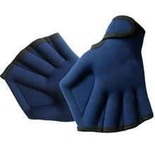 New Arrival Sphere Webbed Surfing Swimming Gloves Sports Paddle Training Fingerless Glove 1 Pair