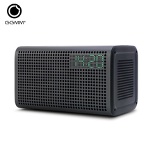 GGMM E3 Bluetooth Wi-Fi Speaker Stereo Sound with LED Clock Alarm USB Charging Port for Apple iOS Android Windows allow Spotify(China)