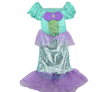 The little mermaid Ariel Princess Costume Kids Girls Cospaly Dresses fantasia infantil halloween christmas CO29841939
