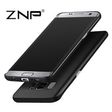 ZNP Luxury hard Matte Case for Samsung Galaxy S7 S6 S7 edge S6 Full Cover PC Phone Cases For Samsung Galaxy S8 S8 plus S7 Case
