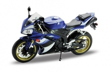 Welly 1:10 YAMAHA YZF R1 MOTORCYCLE BIKE DIECAST MODEL TOY NEW IN BOX FREE SHIPPING