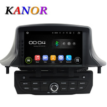 KANOR Android 5.1 Car Multimedia DVD For Renault Megane III 3 2009-2016 With Bluetooth GPS USB WIFI Capacitive 1024*600