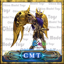 CMT Great Toys GT Ex Scorpio Milo Soul of Gold God Saint Seiya Metal Armor Myth Cloth Gold Action Figure
