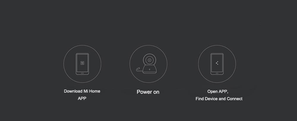 Xiaomi Mijia Smart Cam Cradle Head Version 720P HD 360 Degree Webcam IP Cam Camcorder 36
