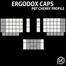 ergodox ergo pbt blank keycaps custom mechanical keyboards Infinity ErgoDox Ergonomic Keyboard keycaps(China)