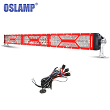 "Oslamp 32"" 300W LED Light Bar Offroad CREE chips Combo Beam 4x4 Led Bar Light Truck SUV 4WD ATV 12v 24v Led Work Driving Lamp"
